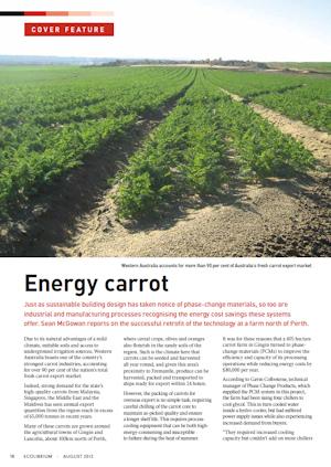 Energy Carrot